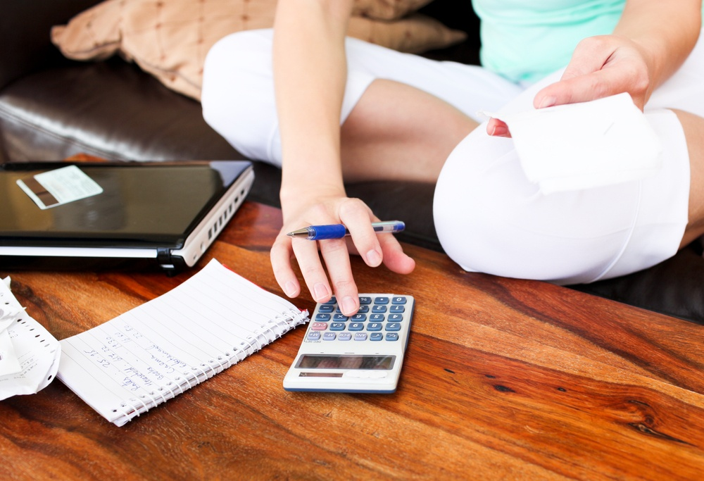 Looking at your budget before selling or renting your home.