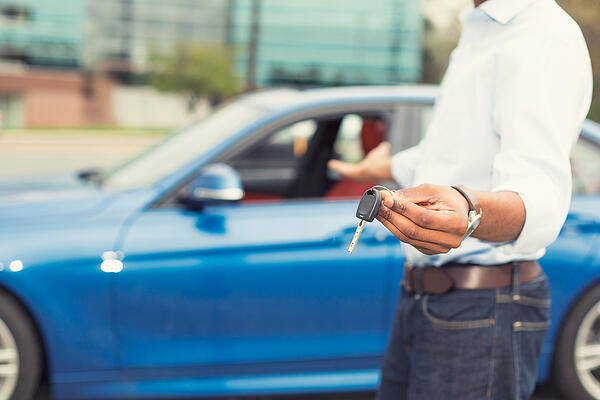 Don't make large purchases such as buying a car during the home buying process.