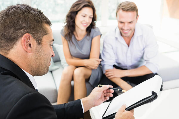Find a good real estate agent when home buying.