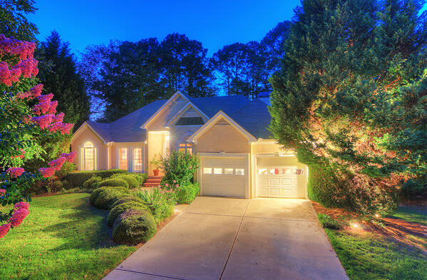 Home stagers will take into account curb appeal.