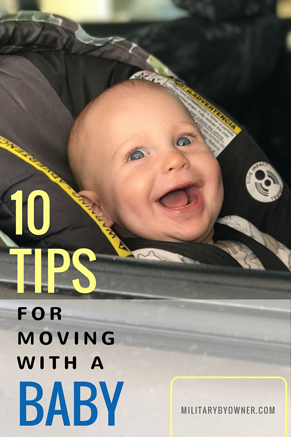 10 Tips for Moving with a Baby