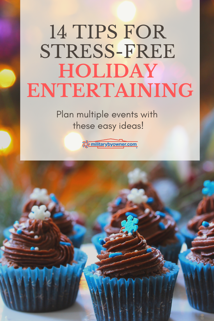14 tips for stress-free holiday entertaining