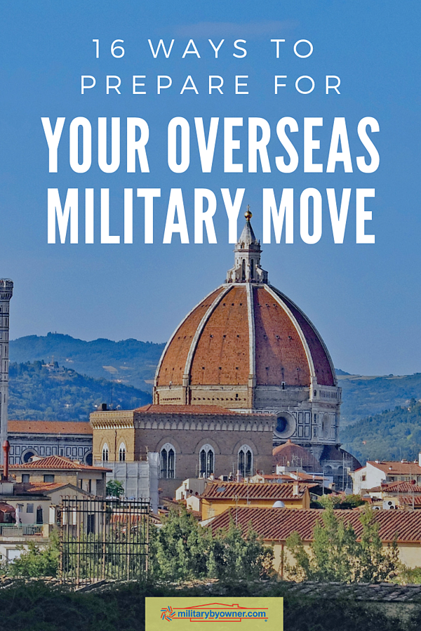 16 Ways to Prepare for Your Overseas Military Move