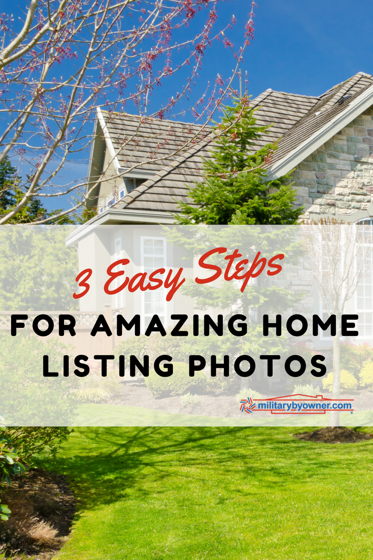 3 Easy Steps to Taking Great Photos for Your Home Listing
