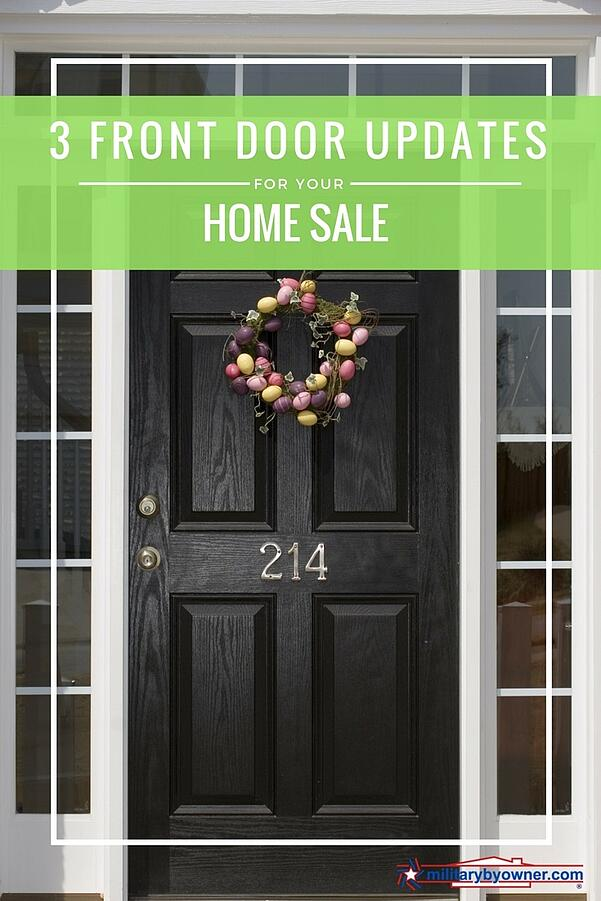 3 Front Door Updates for Your Home Sale