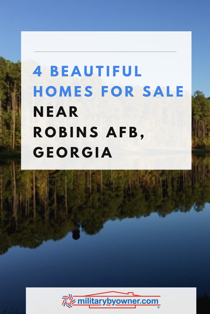 4 Beautiful Homes for Sale Near Robins AFB, GA
