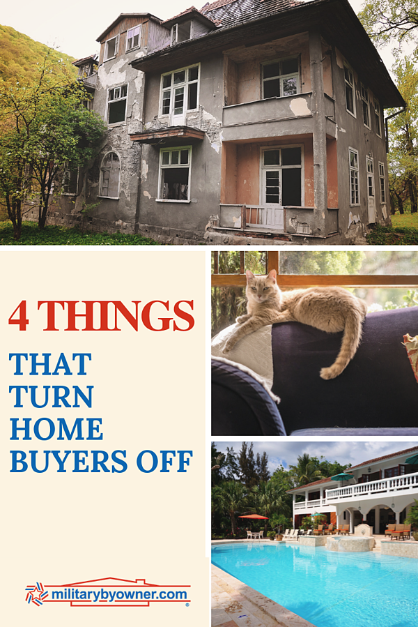 4 Things That Turn Homebuyers Off