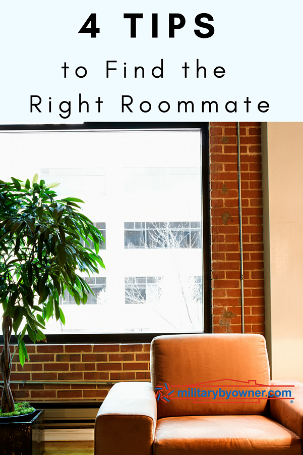 4 Tips to Find the Right Roommate