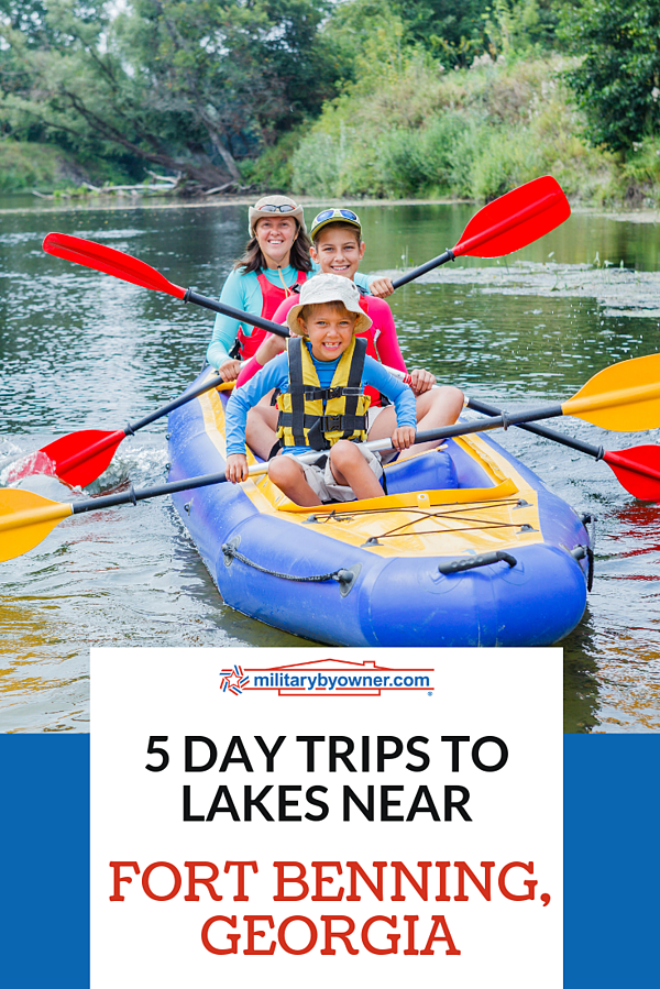 5 Lake Day Trips Near Fort Benning
