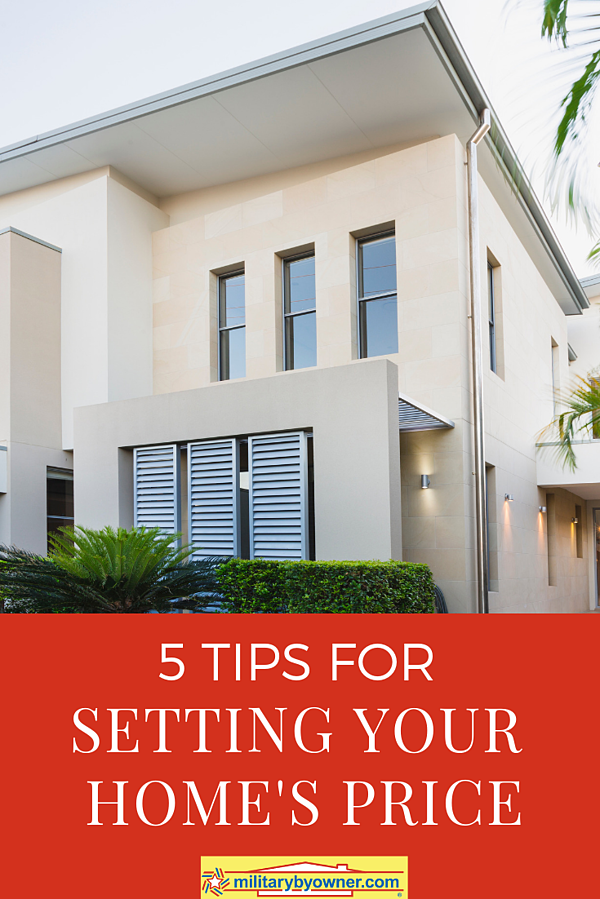 5 Tips for Setting Your Home Price