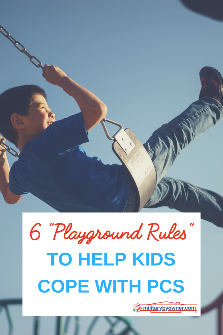 6 Playground Rules to Help Kids Cope with PCS