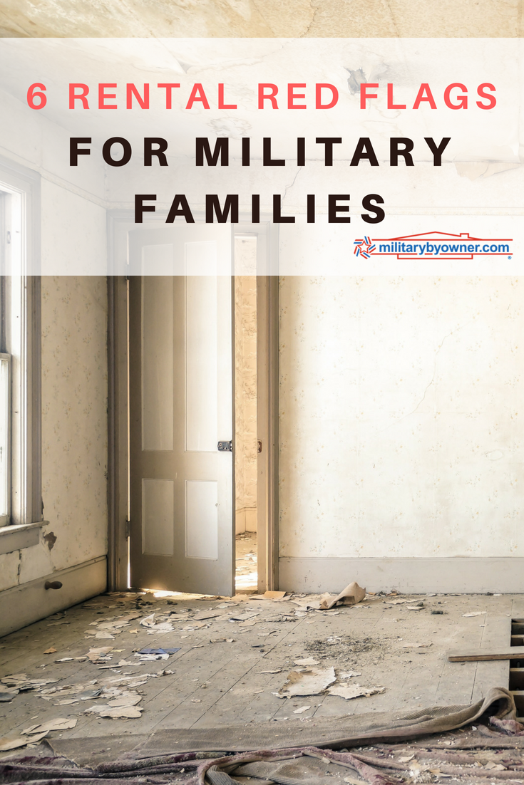 6 Rental Red Flags for Military Families