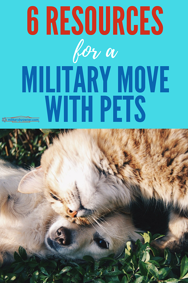 6 Resources for a Military Move with Pets