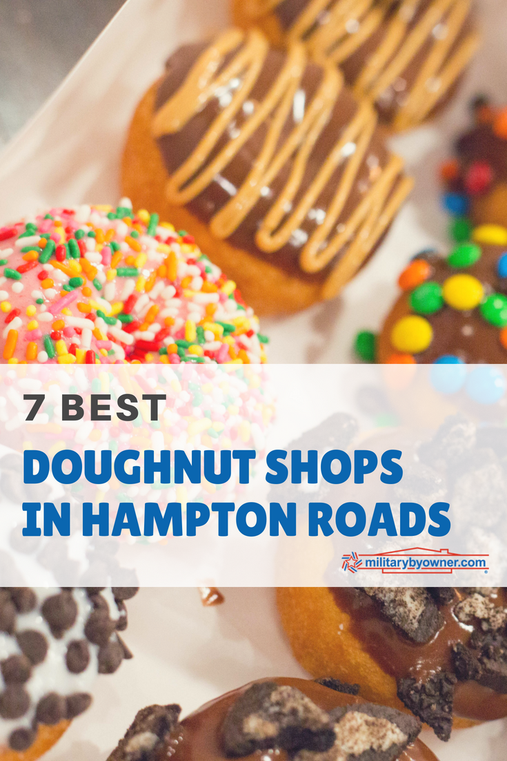 7 Best Doughnut Shops in Hampton Roads