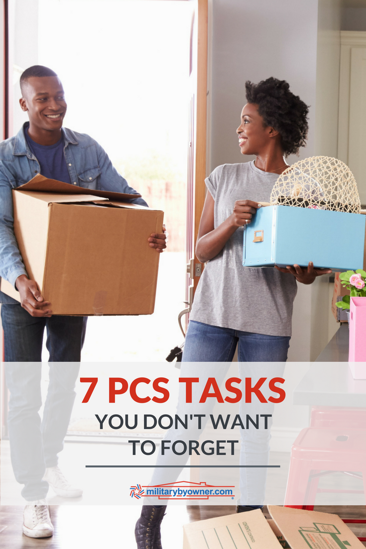 Don't Forget These 7 PCS Tasks