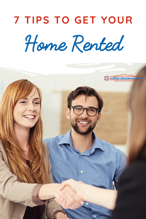 7 Tips to Get Your Home Rented