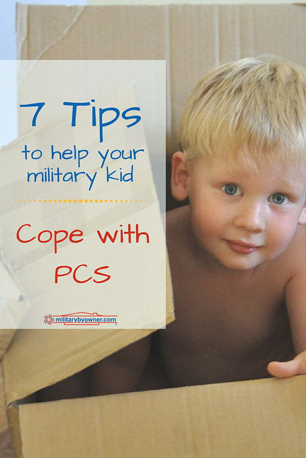 7 Tips to Help Military Kids Cope with PCS