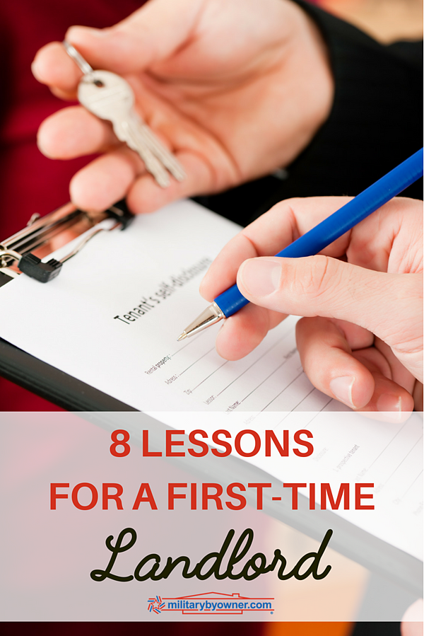 8 Lessons for a First-Time Landlord