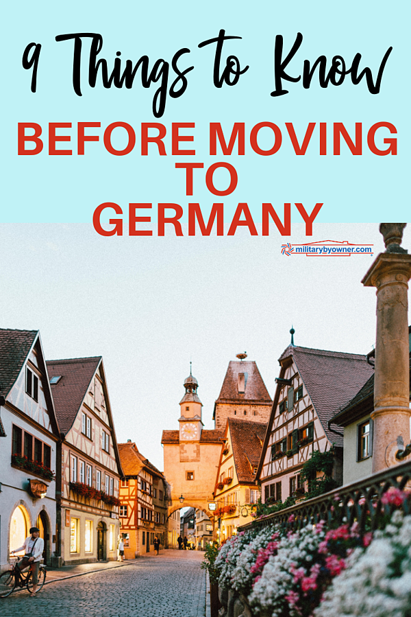 9 Things to Know Before Moving to Germany