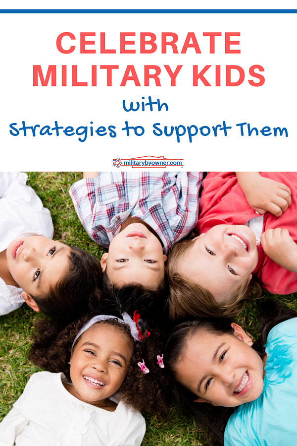 Celebrate Military Kids with Strategies to Support Them