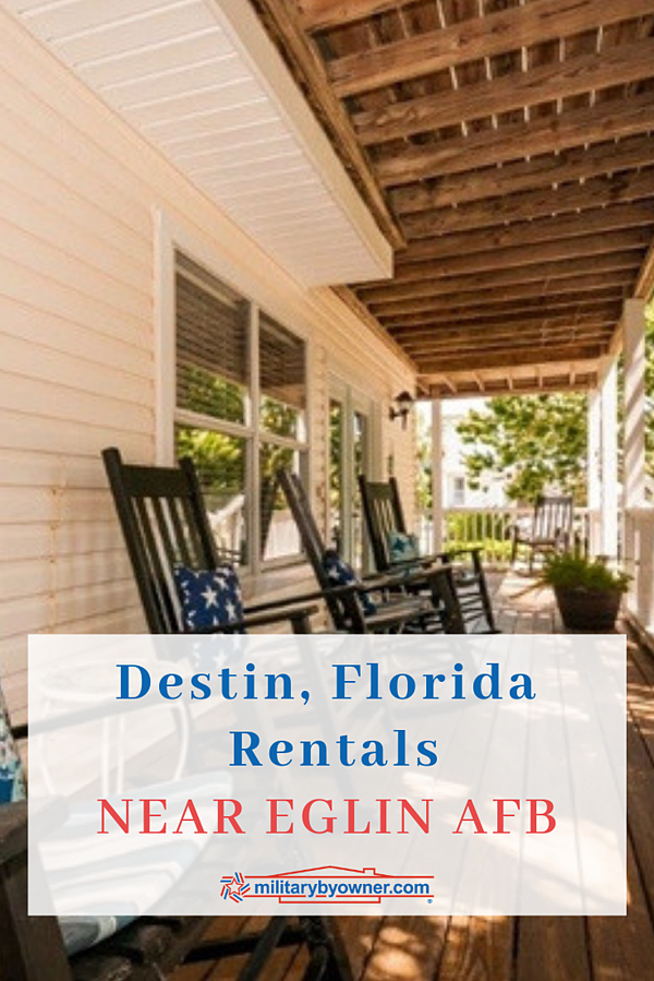 Destin Rentals near Eglin AFB