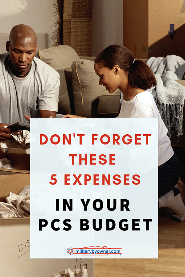 Don't Forget These 5 Expenses in Your PCS Budget