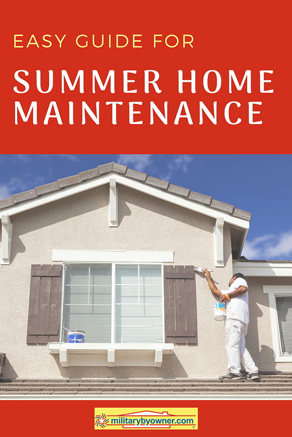 Easy Guide for Summer Home Maintenance