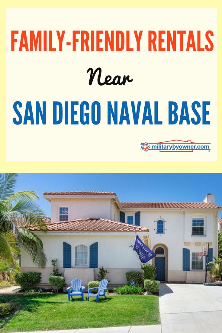 Family Friendly Rentals Near San Diego Naval Base
