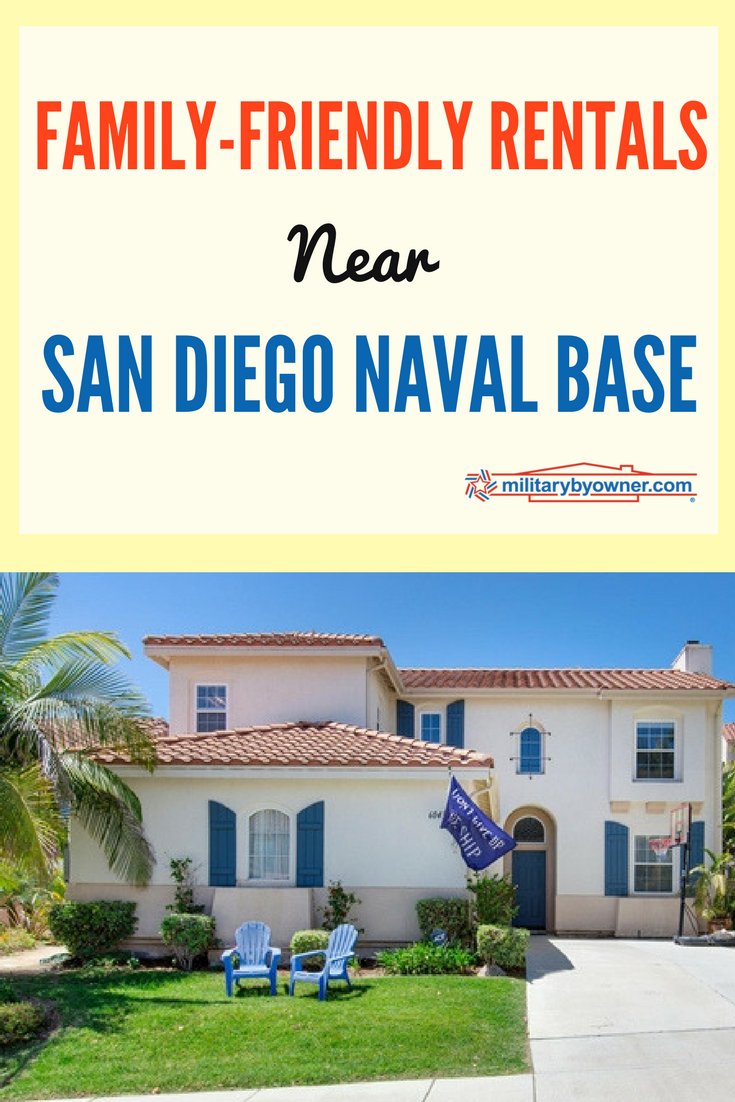 Family Friendly Rentals Near San Diego Naval Base