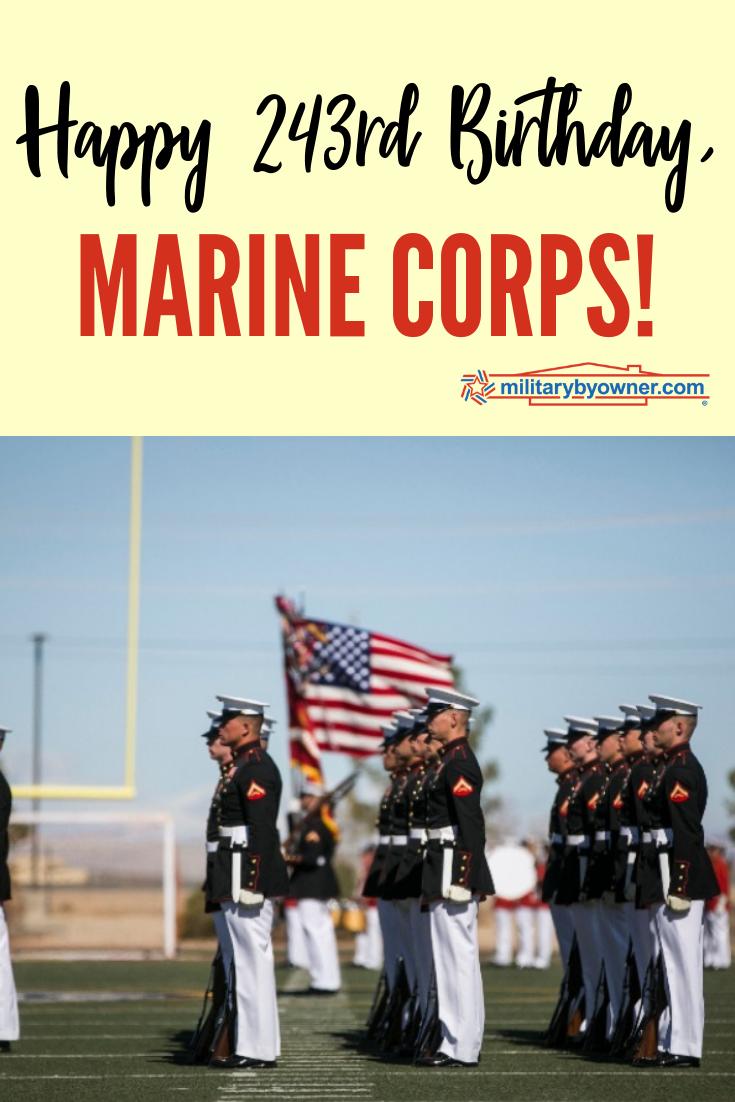 Happy 243rd Birthday, Marine Corps