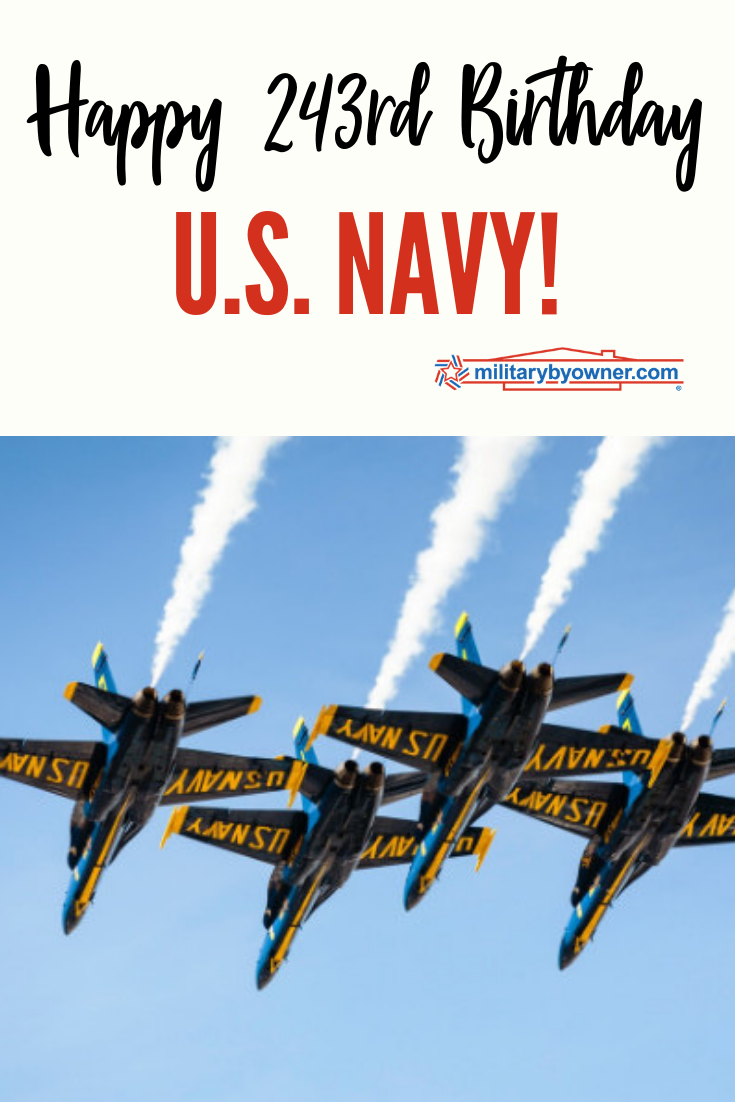 Happy 243rd Birthday, U.S. Navy!