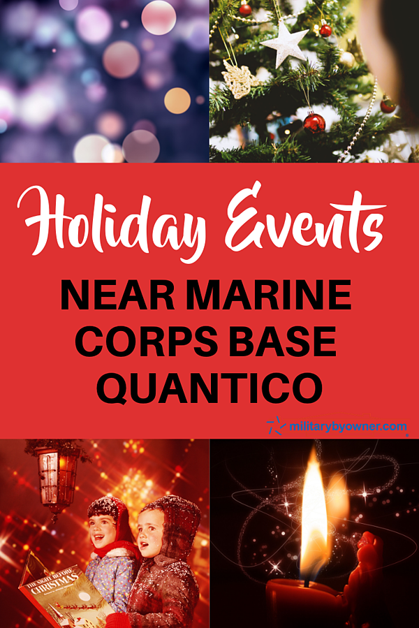 Holiday Events Near MCB Quantico
