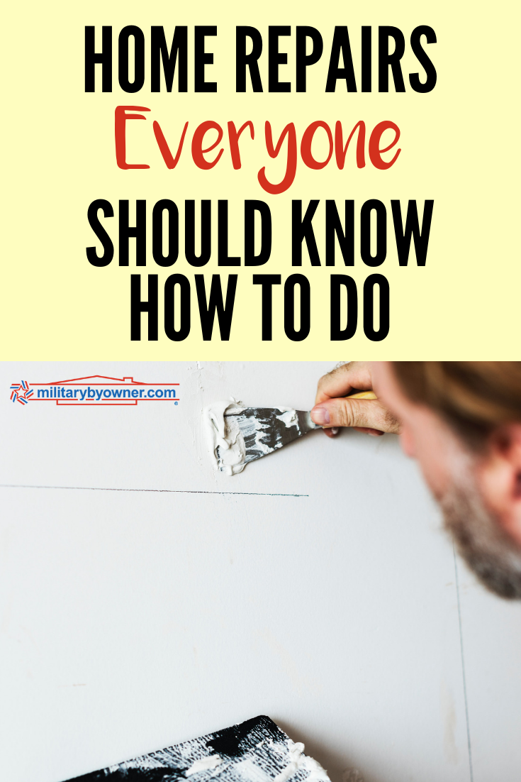 Home Repairs Everyone Should Know How to Do