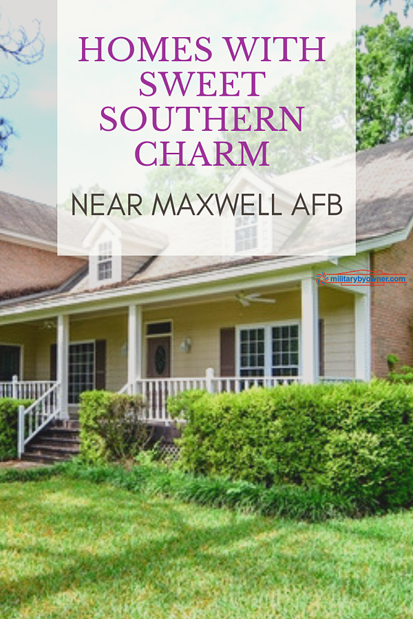 Homes With Southern Charm Near Maxwell AFB