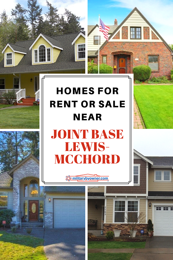 Homes for Sale or Rent Near Joint Base Lewis-McChord