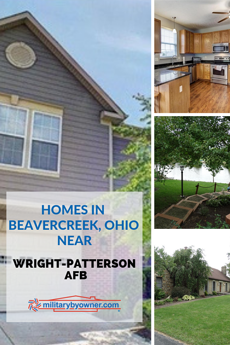 Homes in Beavercreek Ohio near Wright-Patterson AFB