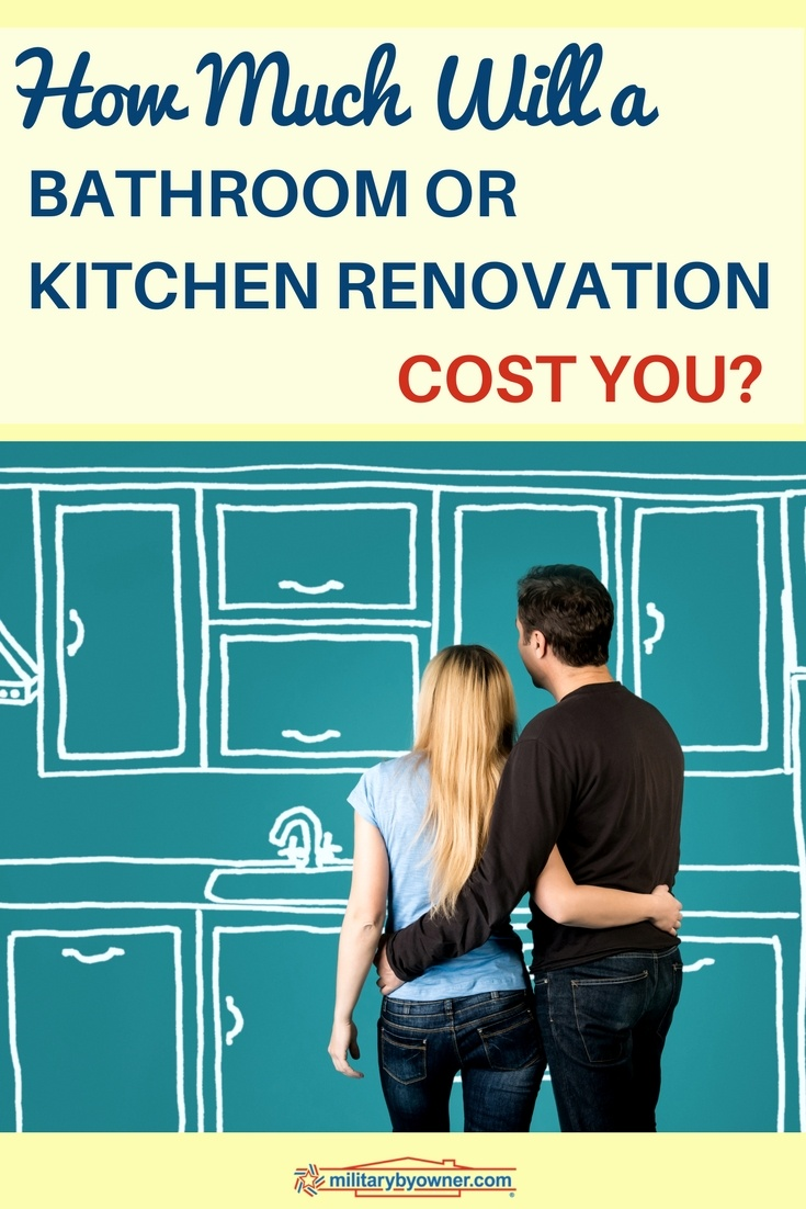 How Much Will a Bathroom or Kitchen Renovation Cost You?