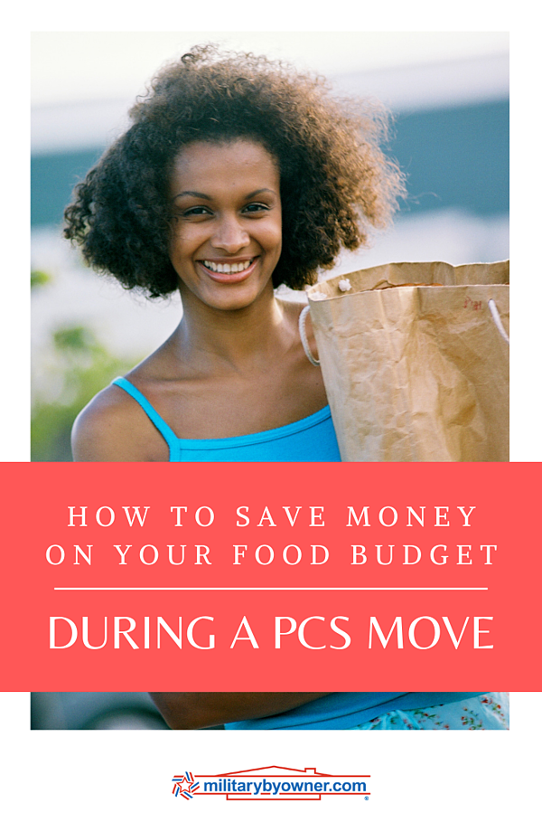 How to Save Money on Your Food Budget During a PCS Move