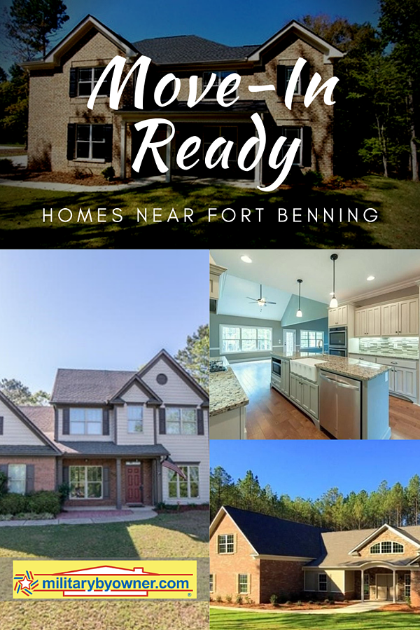 Move-In Ready Homes for Sale Near Fort Benning