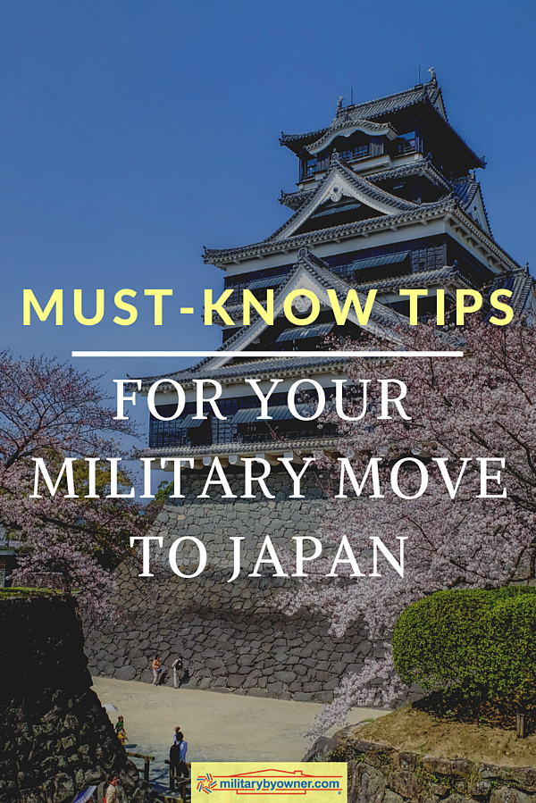 Must Know Tips for Your Military Move to Japan