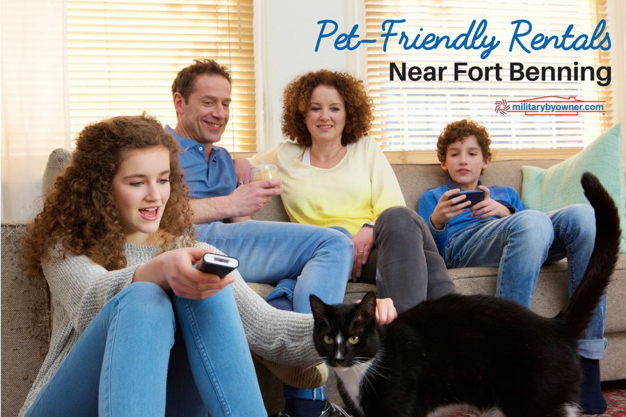 Pet-Friendly Rentals Near Fort Benning