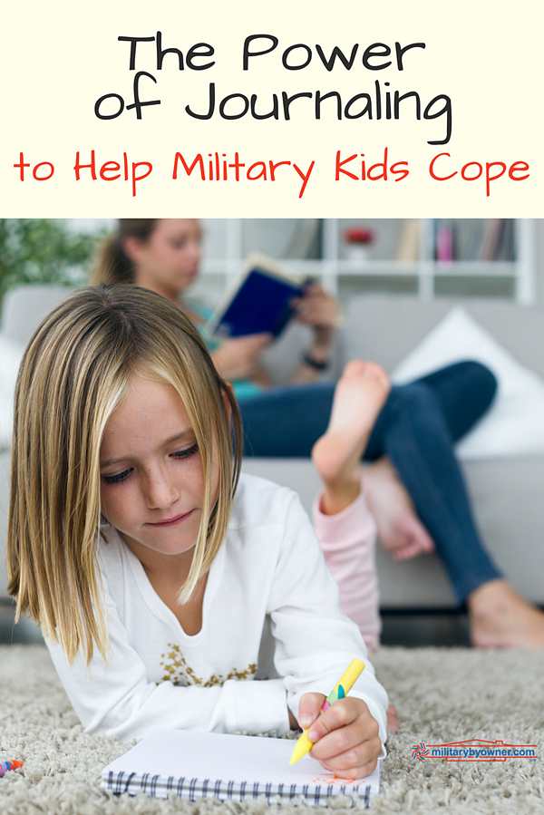 The Power of Journaling to Help Military Kids Cope