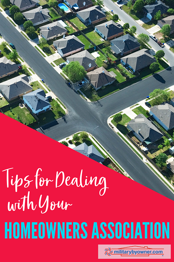 Tips for Dealing with Your Homeowners Association