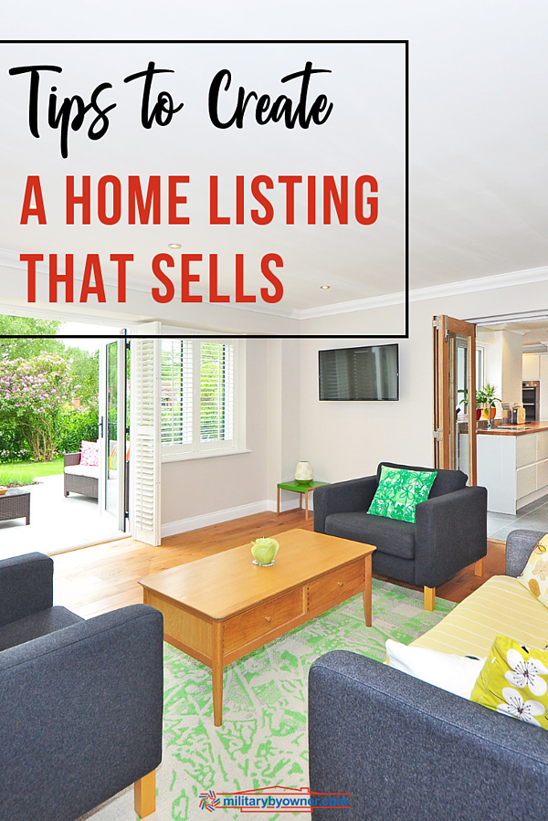 Tips to Create a Home Listing that Sells
