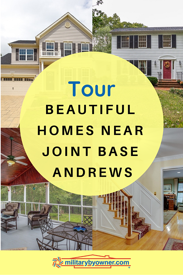 Tour Beautiful Homes Near Joint Base Andrews