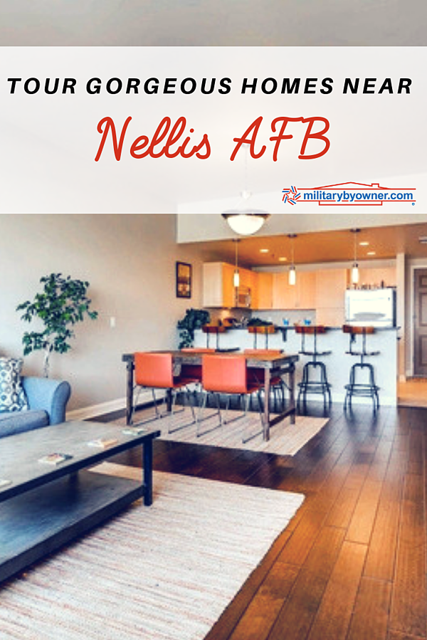 Tour Gorgeous Homes Near Nellis AFB