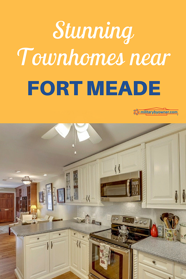 Stunning Townhomes Near Fort Meade