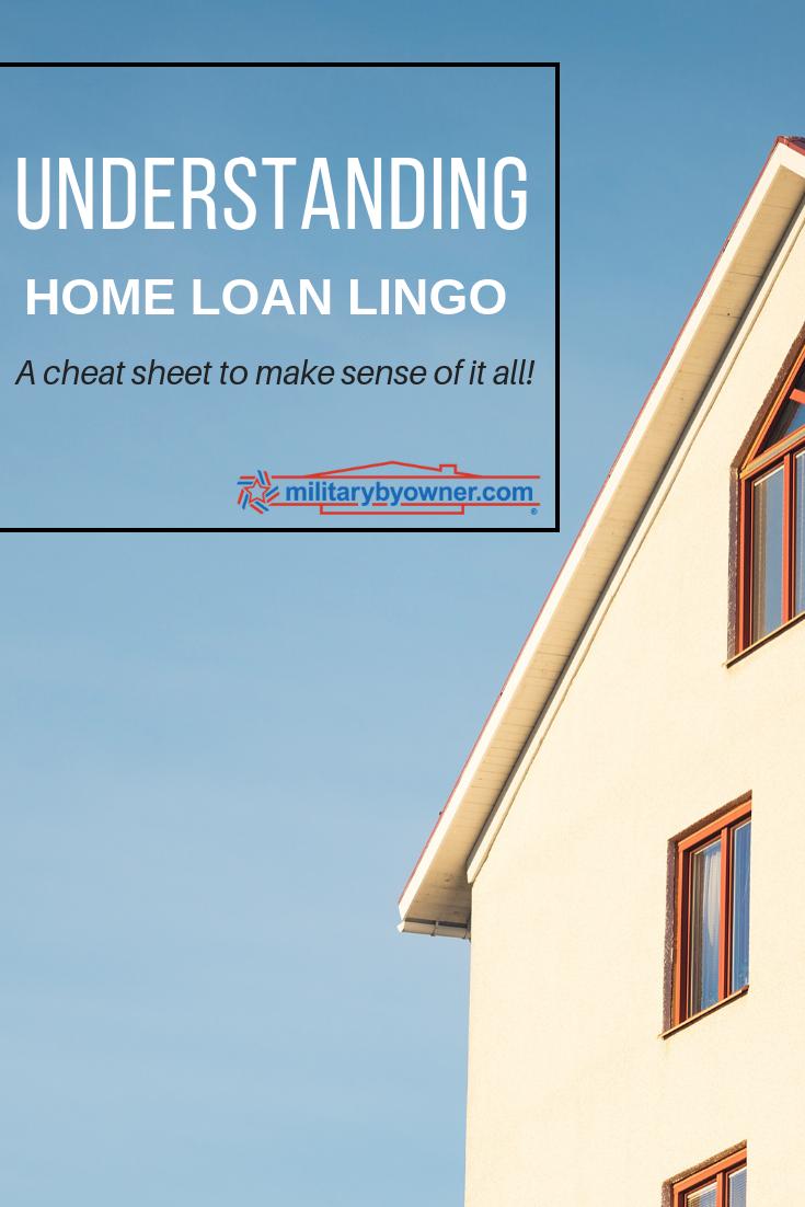 Understanding Home Loan Lingo
