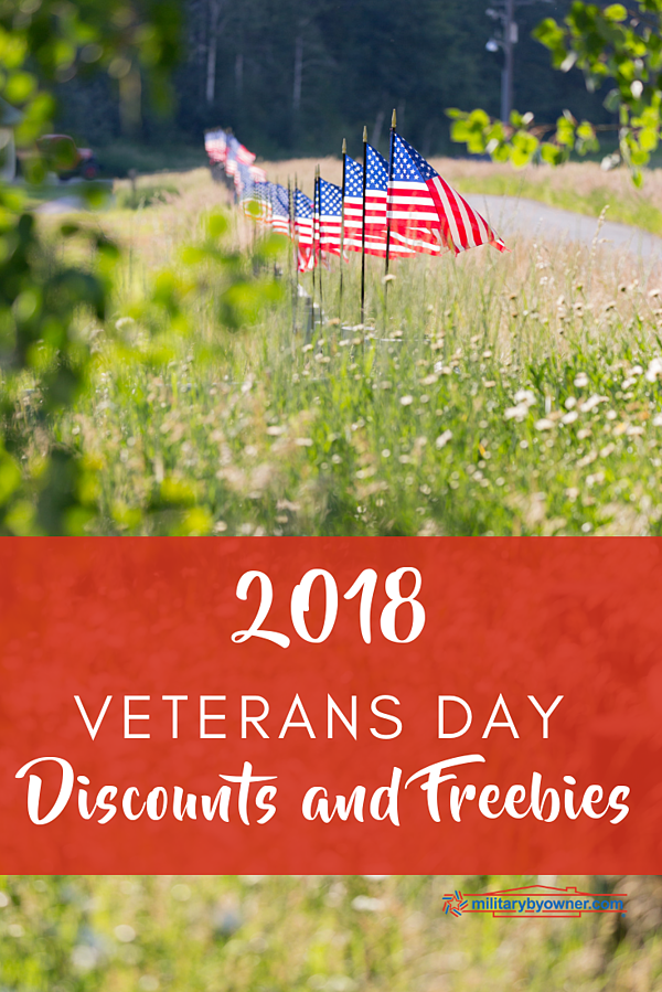 2018 Veterans Day Discounts and Freebies