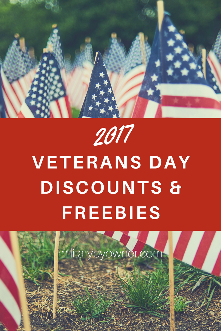 Veterans Day Discounts and Freebies 2017